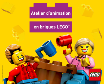L'atelier d'animation en briques LEGO arrive à Vill'UP !