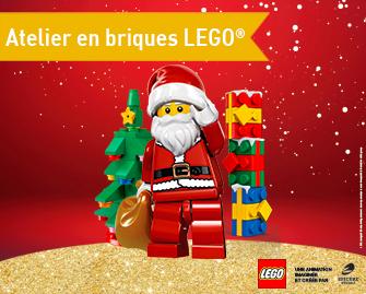 L'atelier LEGO est de retour à Vill'Up !